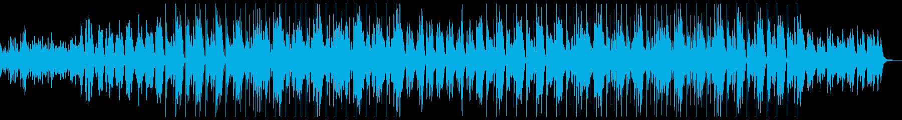 幻想的 不気味 トラップビートの再生済みの波形