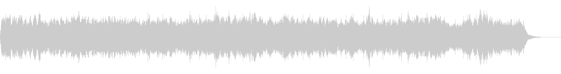 Bach Minuet オーケストラ風の未再生の波形