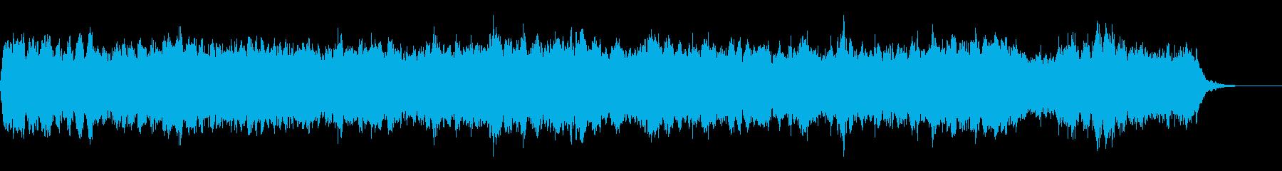 Bach Minuet オーケストラ風の再生済みの波形