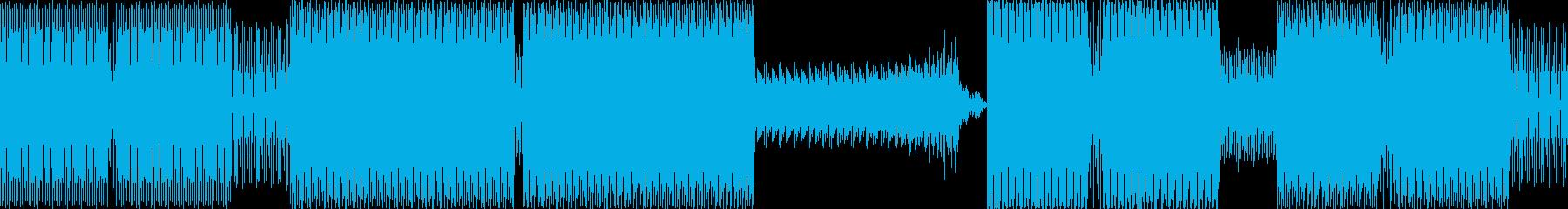 ディープ・ハウス。ダンス-ハウス-...の再生済みの波形