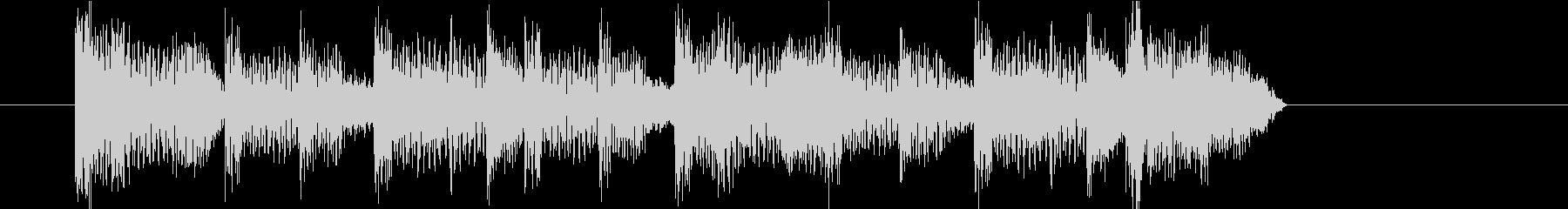 ジングル(ダンス1)の未再生の波形