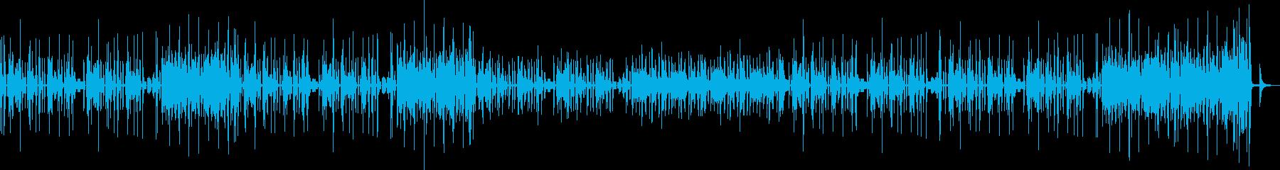 トイ、たのしいかわいい落ち着いたトークの再生済みの波形