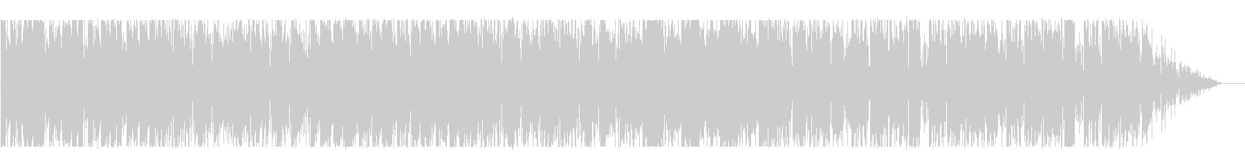 Lazy daily BGM's unreproduced waveform