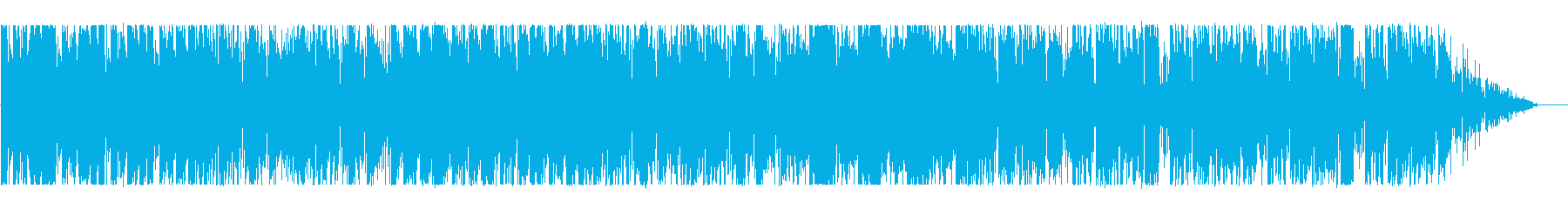 Lazy daily BGM's reproduced waveform