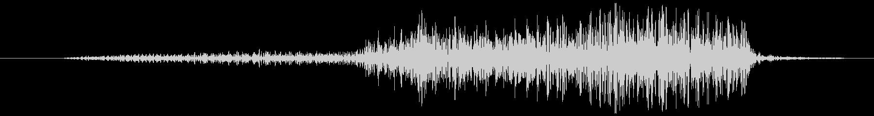 牛 Mooシングルショート01の未再生の波形