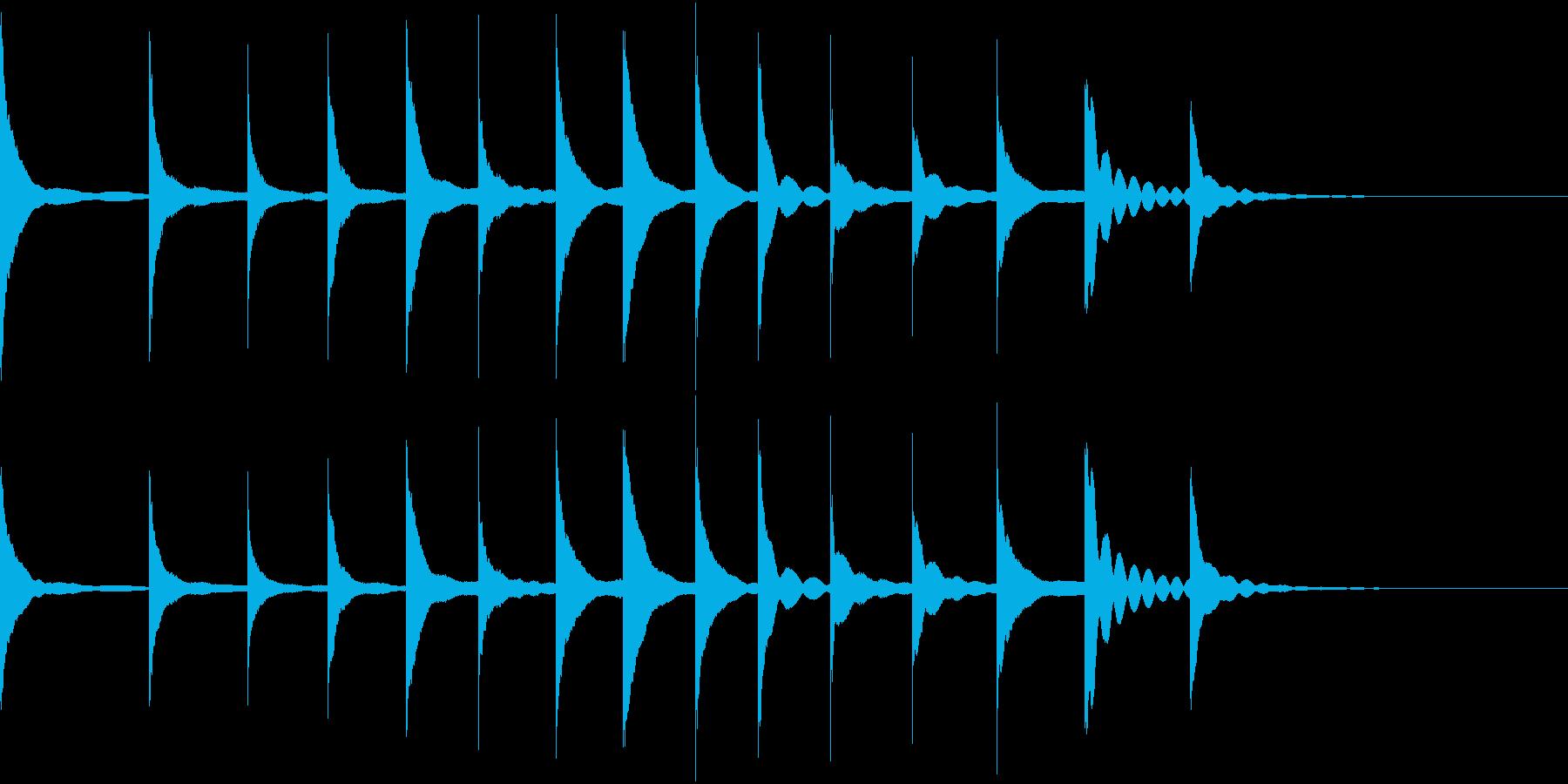 Doremi ドレミ 音階 ゆるかわの再生済みの波形