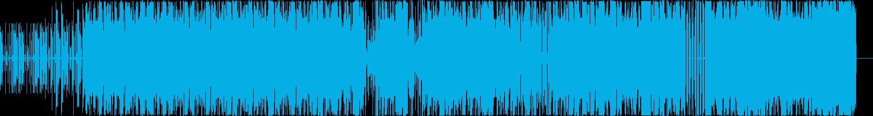 レゲエ調のDubstepの再生済みの波形