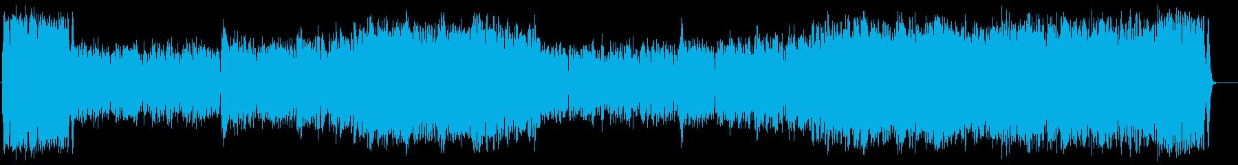 勇者のオーケストラ風音楽(フルサイズ)の再生済みの波形