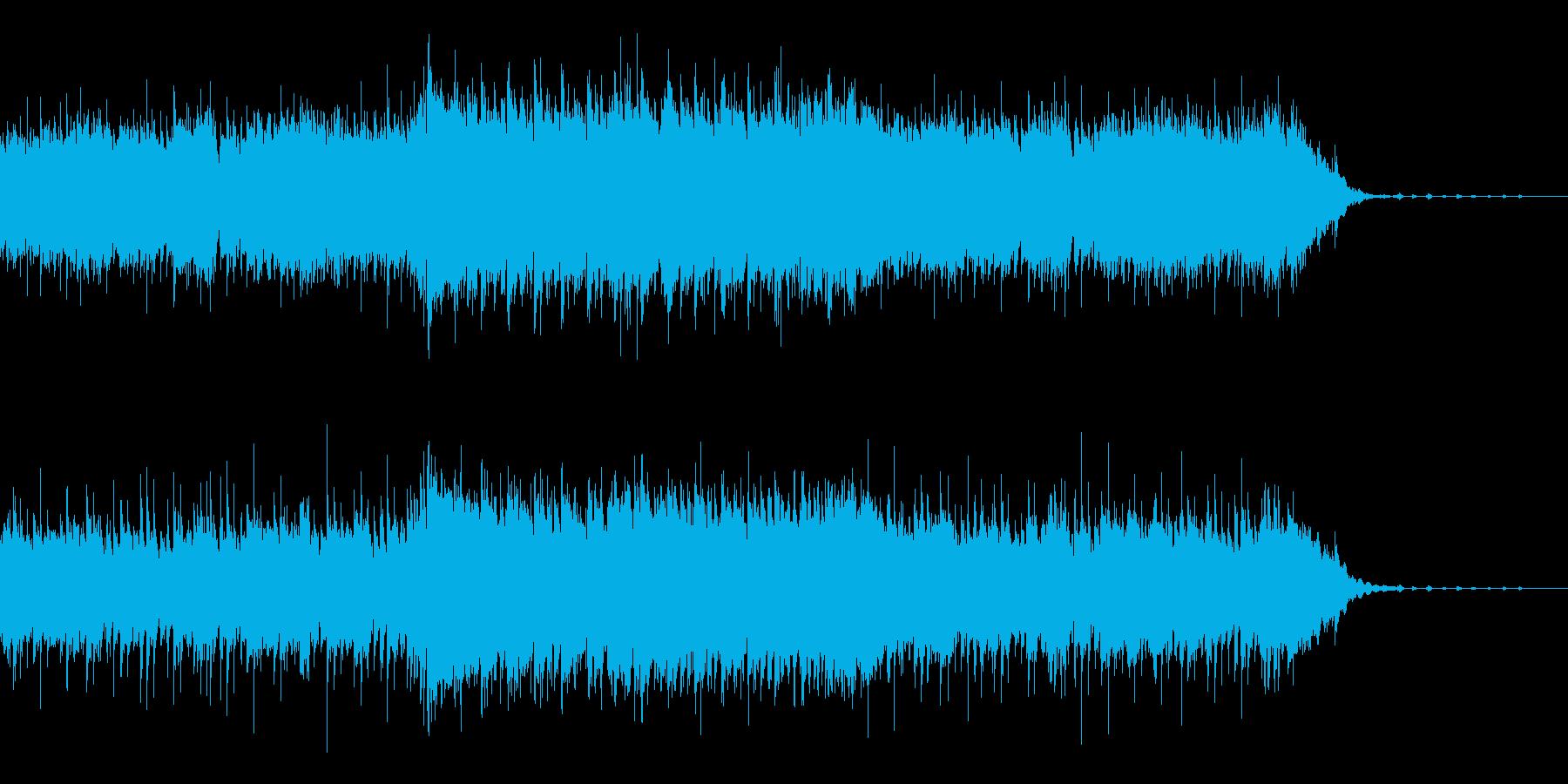 ほのぼのとしたCMに・生演奏アコギの再生済みの波形