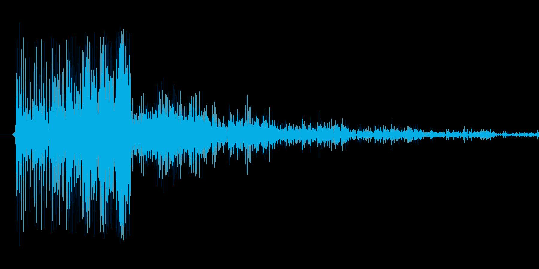 キュルリンという音 パワーアップアイテ…の再生済みの波形