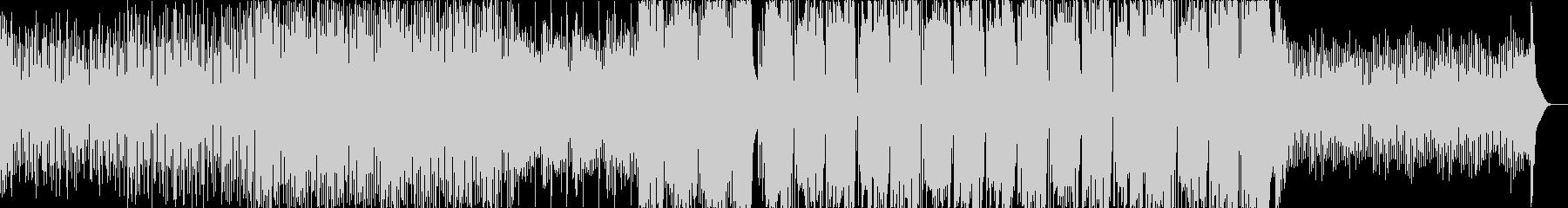 速めなFuture Bassの未再生の波形