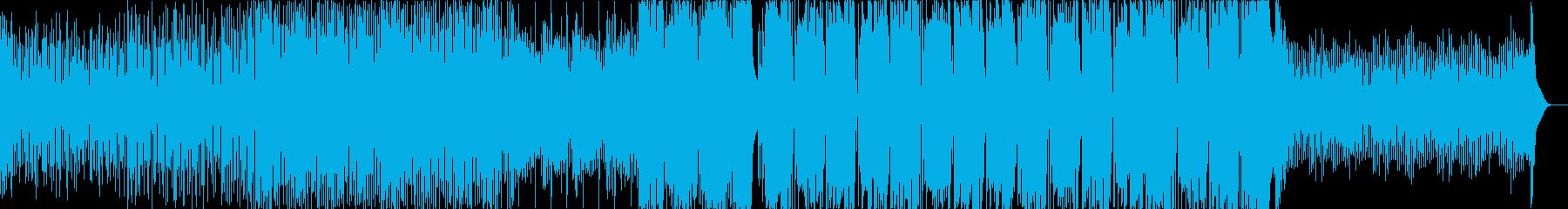 速めなFuture Bassの再生済みの波形