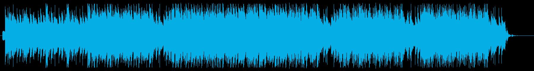 Vlogなどに合うトロピカルハウスの再生済みの波形