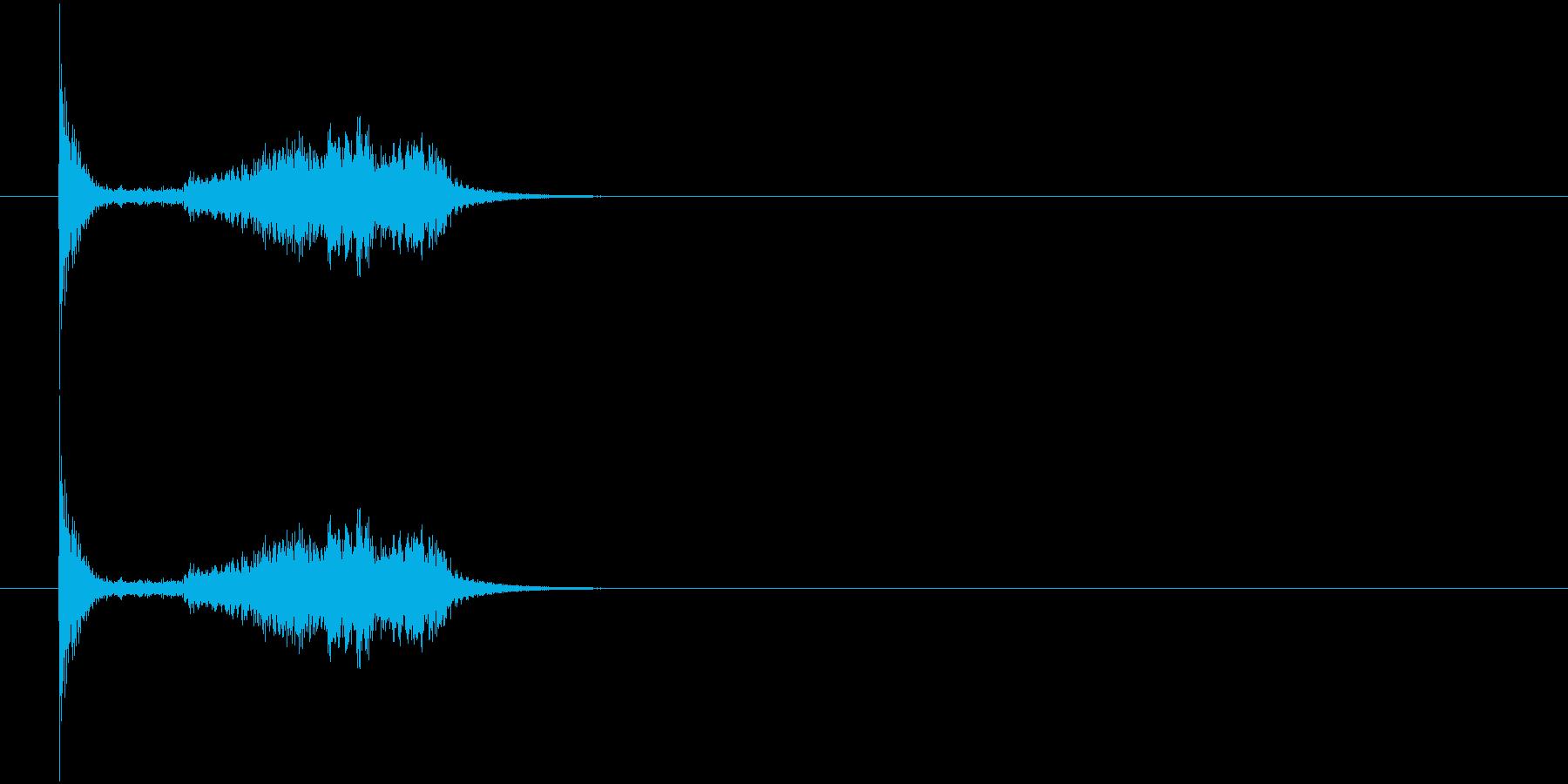 剣 擦る音2の再生済みの波形