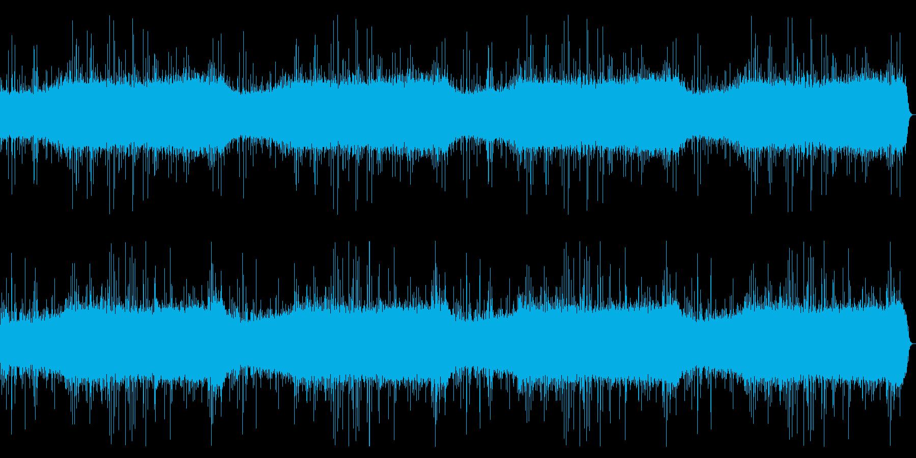 雨の音。トタンにあたる音が印象的。の再生済みの波形