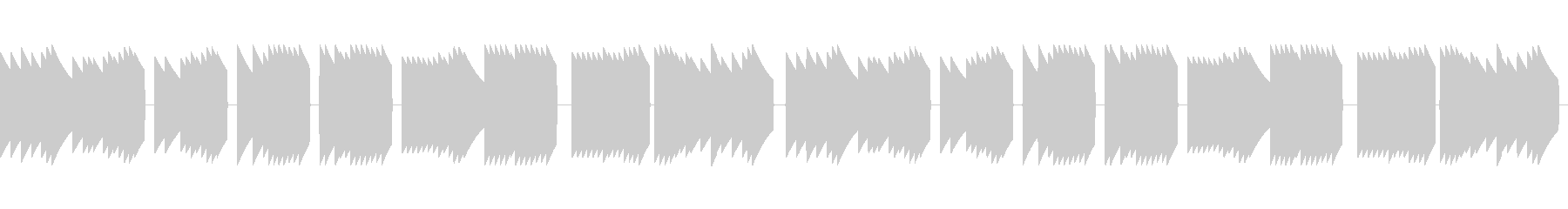 歩行者用信号機の音_とおりゃんせ_03の未再生の波形