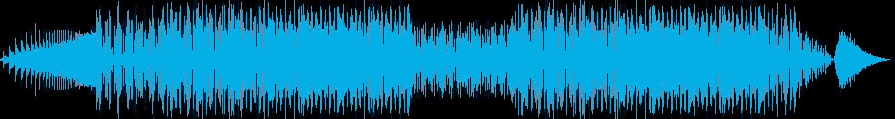 かわいらしいコミカルサウンドの再生済みの波形