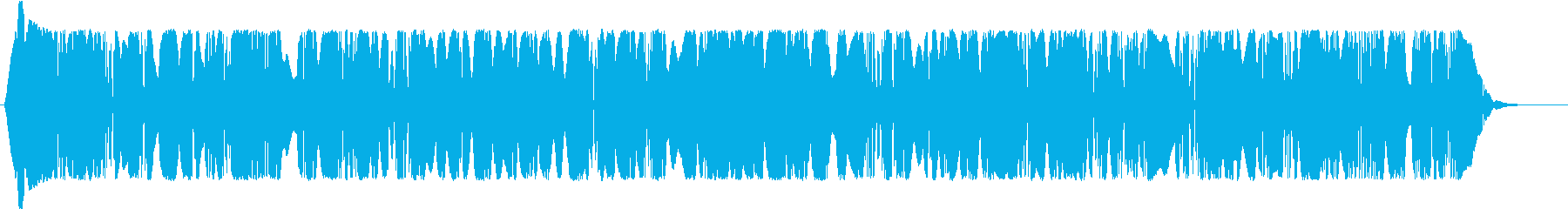 チューニングの再生済みの波形