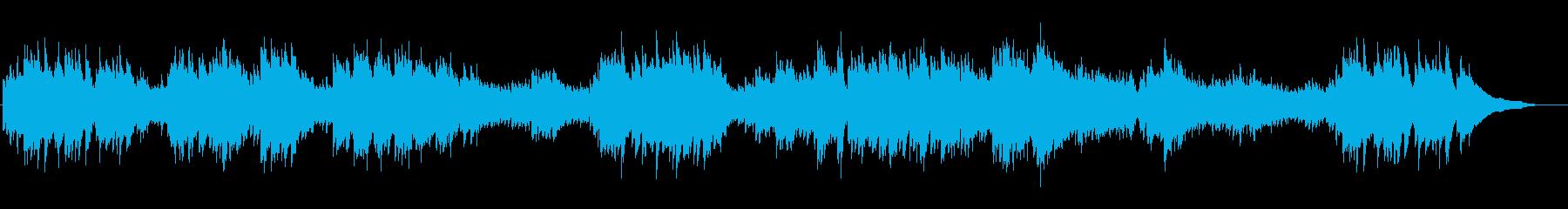 可憐でクルクル回転するイメージのピアノ曲の再生済みの波形