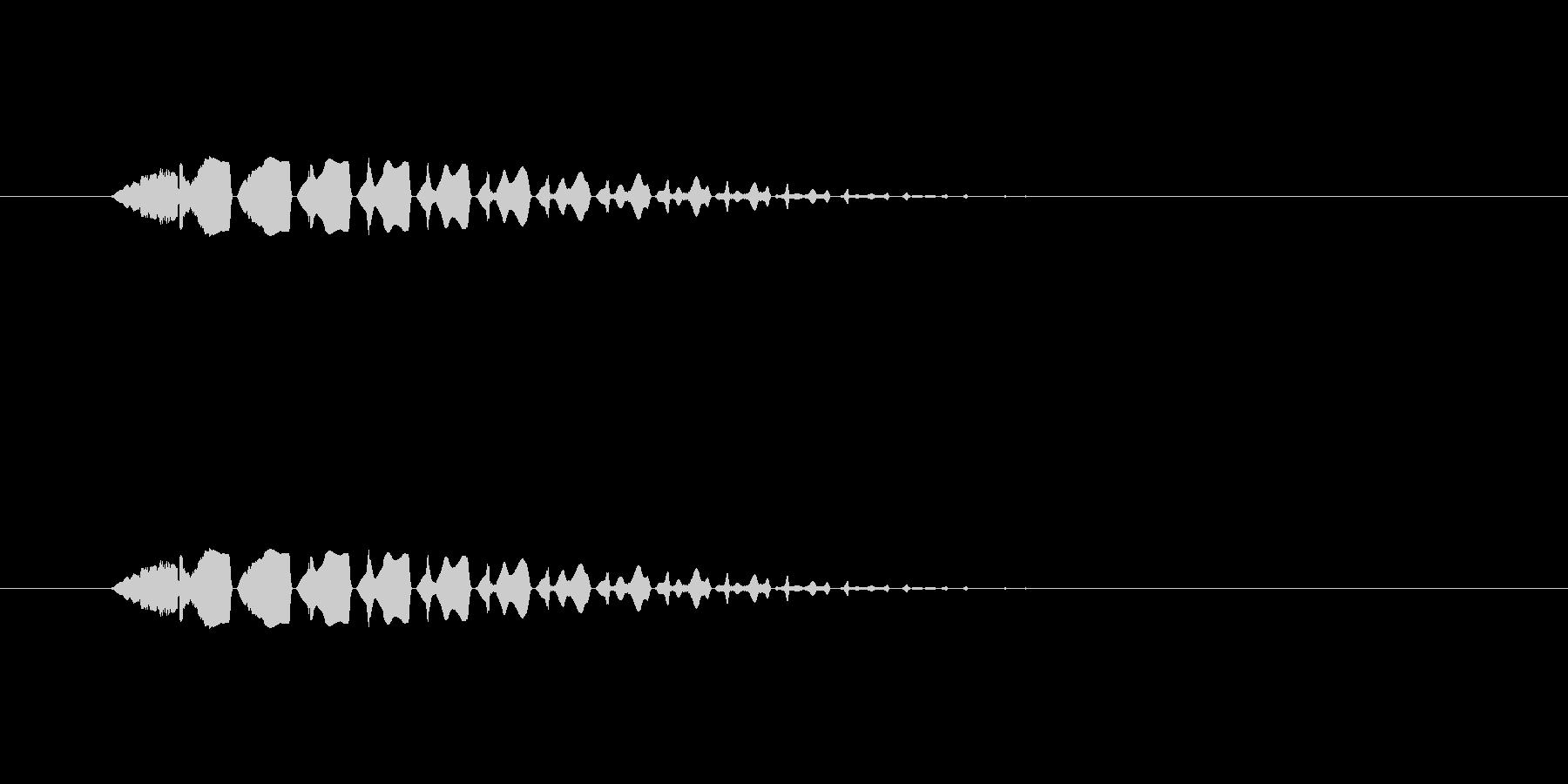 【ポップモーション37-2】の未再生の波形