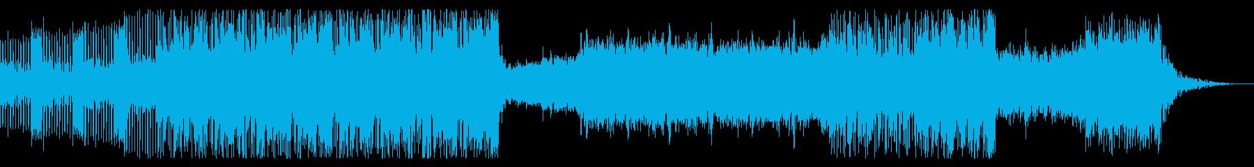ハイテンションなバブルガムベースの再生済みの波形