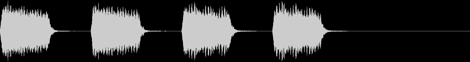 電話の呼び出し音5の未再生の波形
