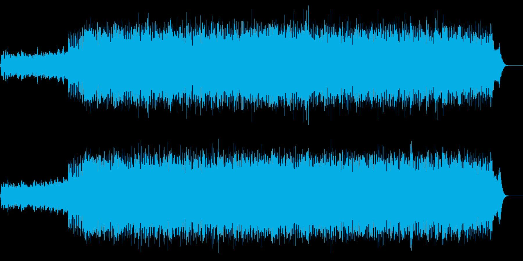 暗さの中にも美しいメロが介在するプログレの再生済みの波形
