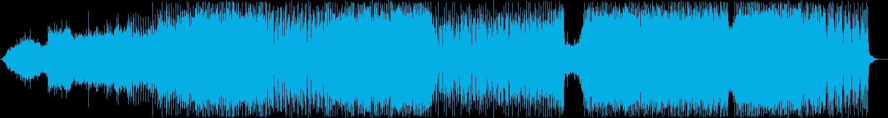 【リズムのみ】疾走感のあるダンスロックの再生済みの波形