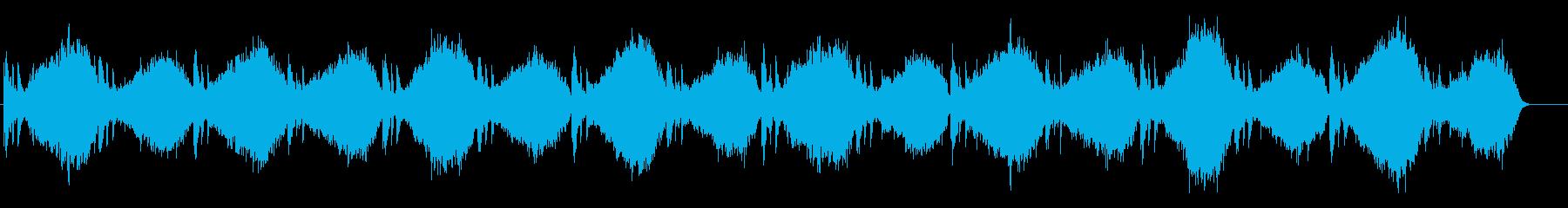ドキュメント向け ストリングス・ピアノ曲の再生済みの波形