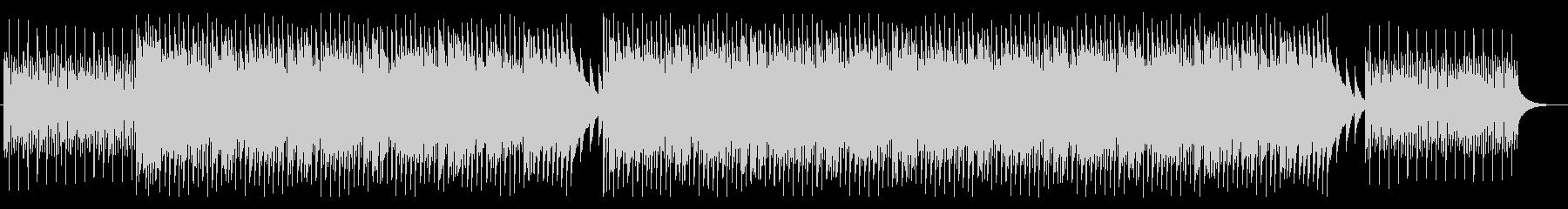 ウクレレで嬉しいハッピーな雰囲気のBGMの未再生の波形