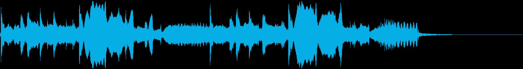 中国/秘境/二胡/琴/ジングルの再生済みの波形