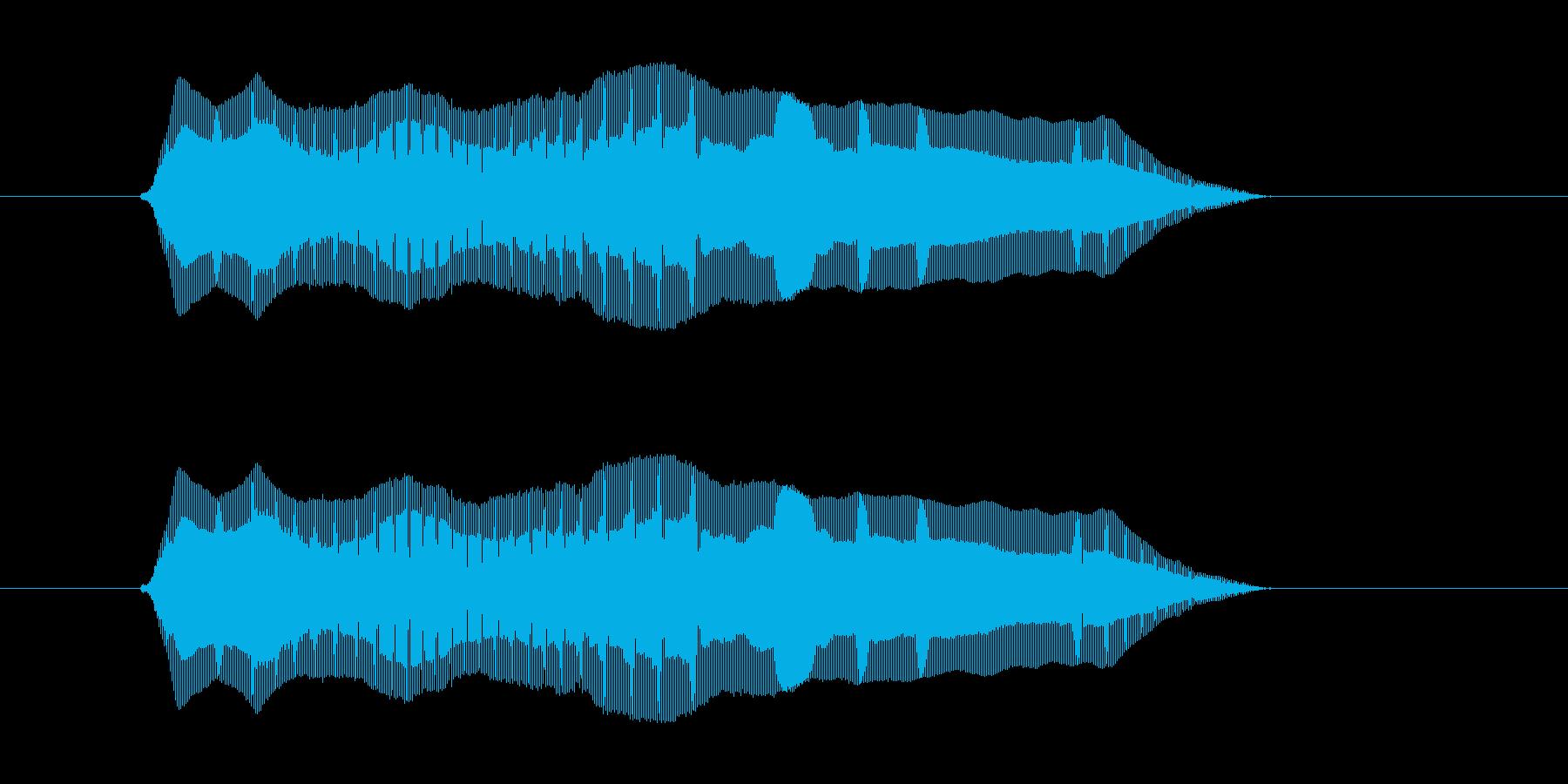うぇーん の再生済みの波形