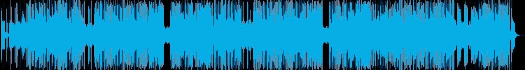 「HARDROCK・ダーク」BGM232の再生済みの波形