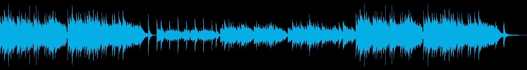 桜・日本庭園等 ピアノ・笛・三味線等の再生済みの波形