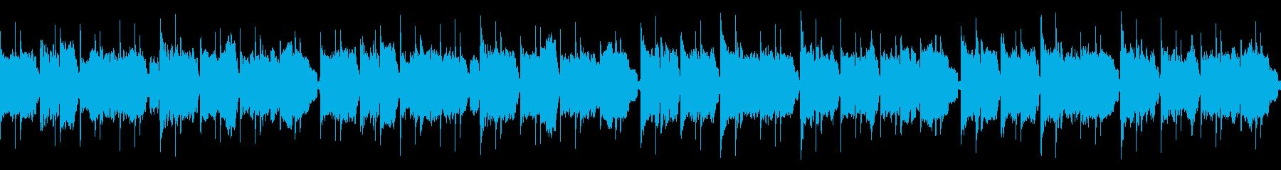 尺八で里山を感じる穏やかな和風曲(ループの再生済みの波形