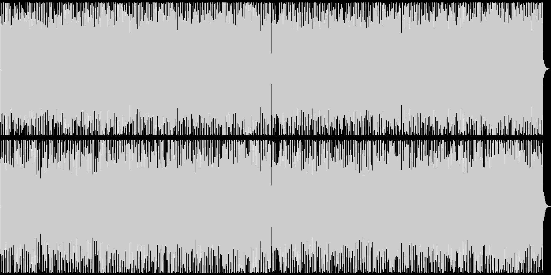 ポップなエスニック戦闘曲の未再生の波形