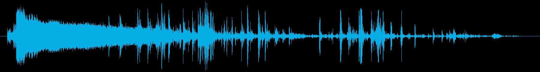 ホラー・スプラッター・骨折3の再生済みの波形