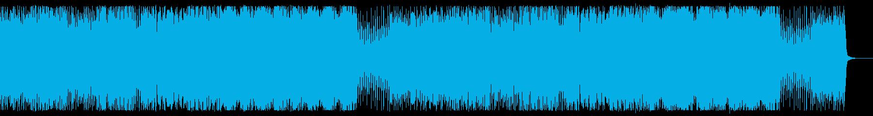 ダーティでポップなハロウィン曲の再生済みの波形
