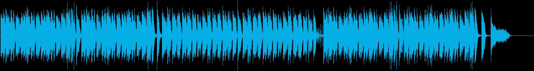 「きょうの料理」のパロディ曲の再生済みの波形