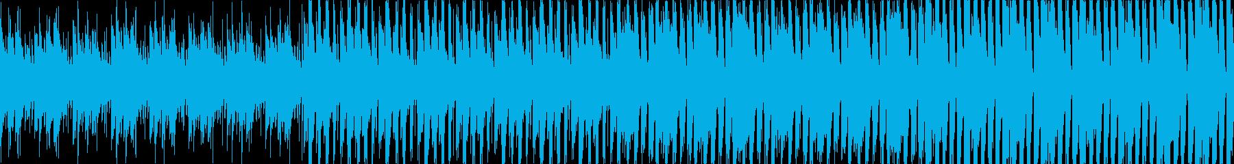 タイトル画面 待機画面用に作りました。…の再生済みの波形