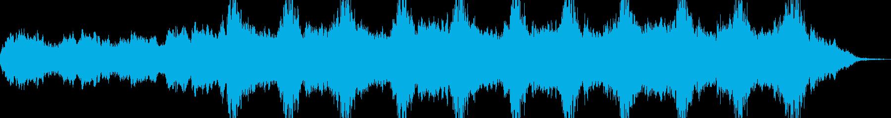 神秘的で少し不穏さ漂う陰気なサウンドの再生済みの波形