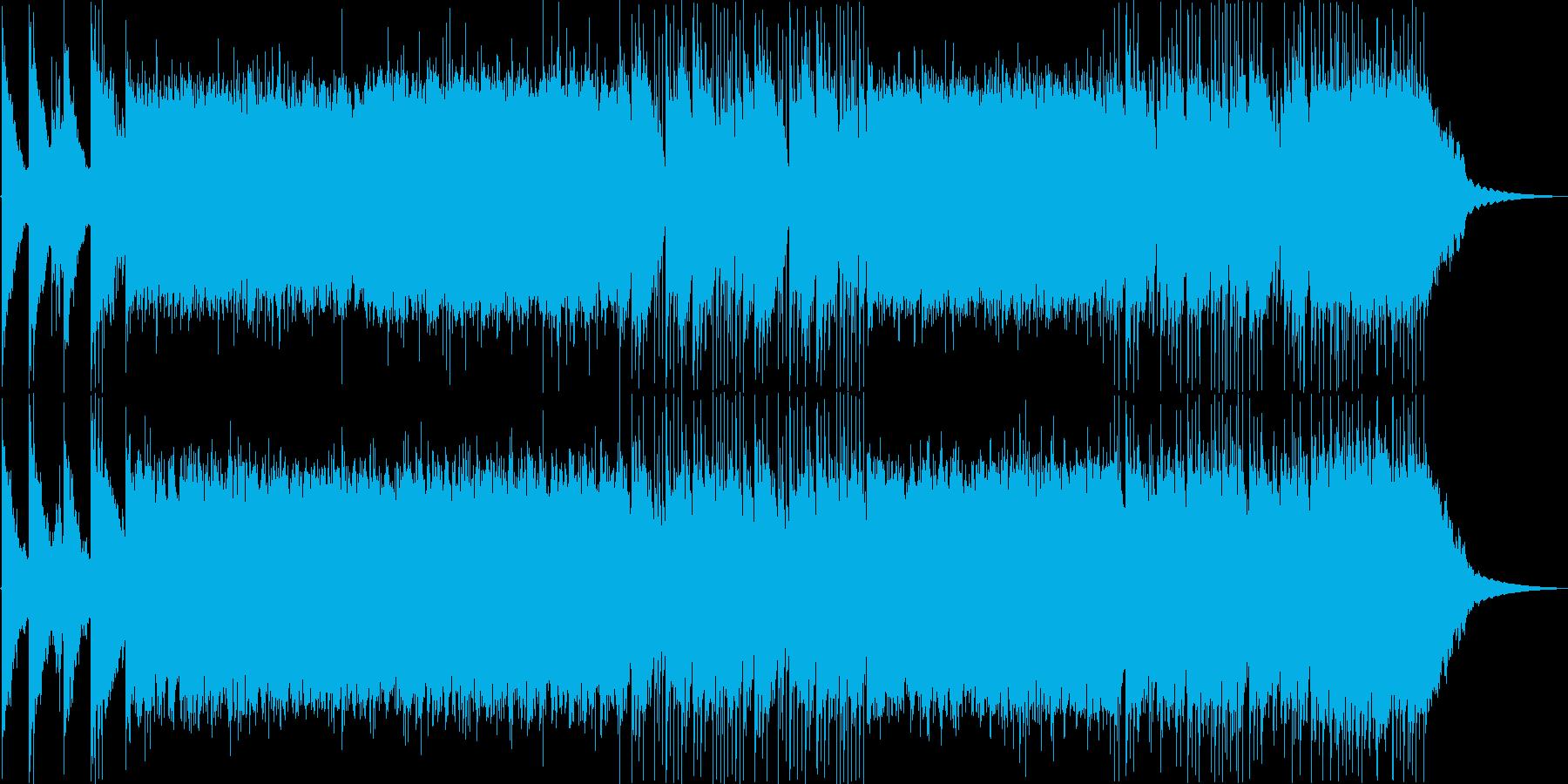 三味線+尺八 勇壮なロック+オーケストラの再生済みの波形