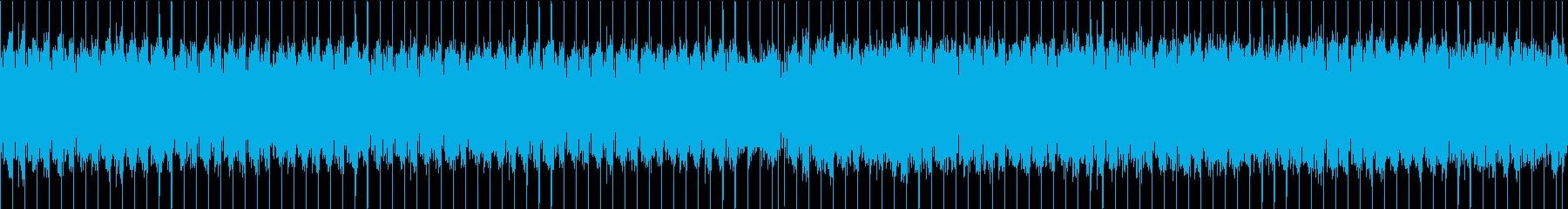 シューティング系BGM・終盤の雰囲気の再生済みの波形