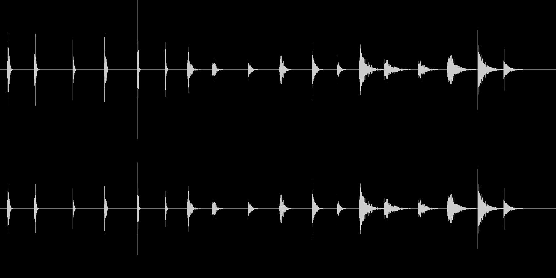 PEEPS&BEEPS、6バージョ...の未再生の波形