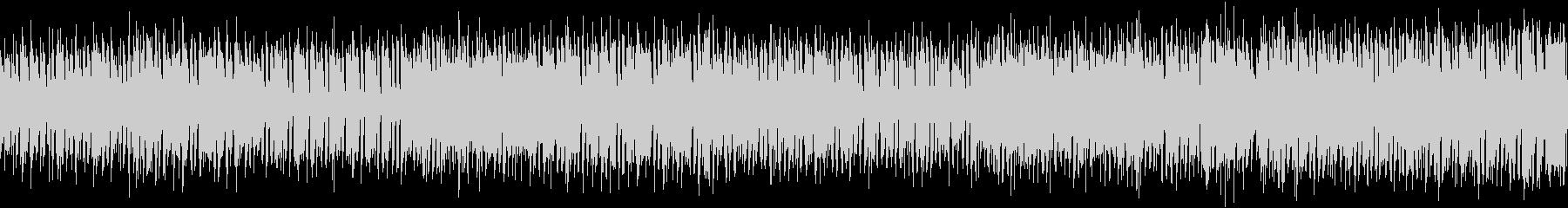 ループ可能な明るく楽しい音楽の未再生の波形