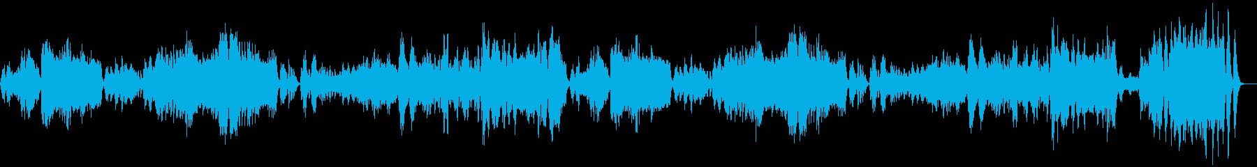 モーツアルトのアイネクライネを短調での再生済みの波形