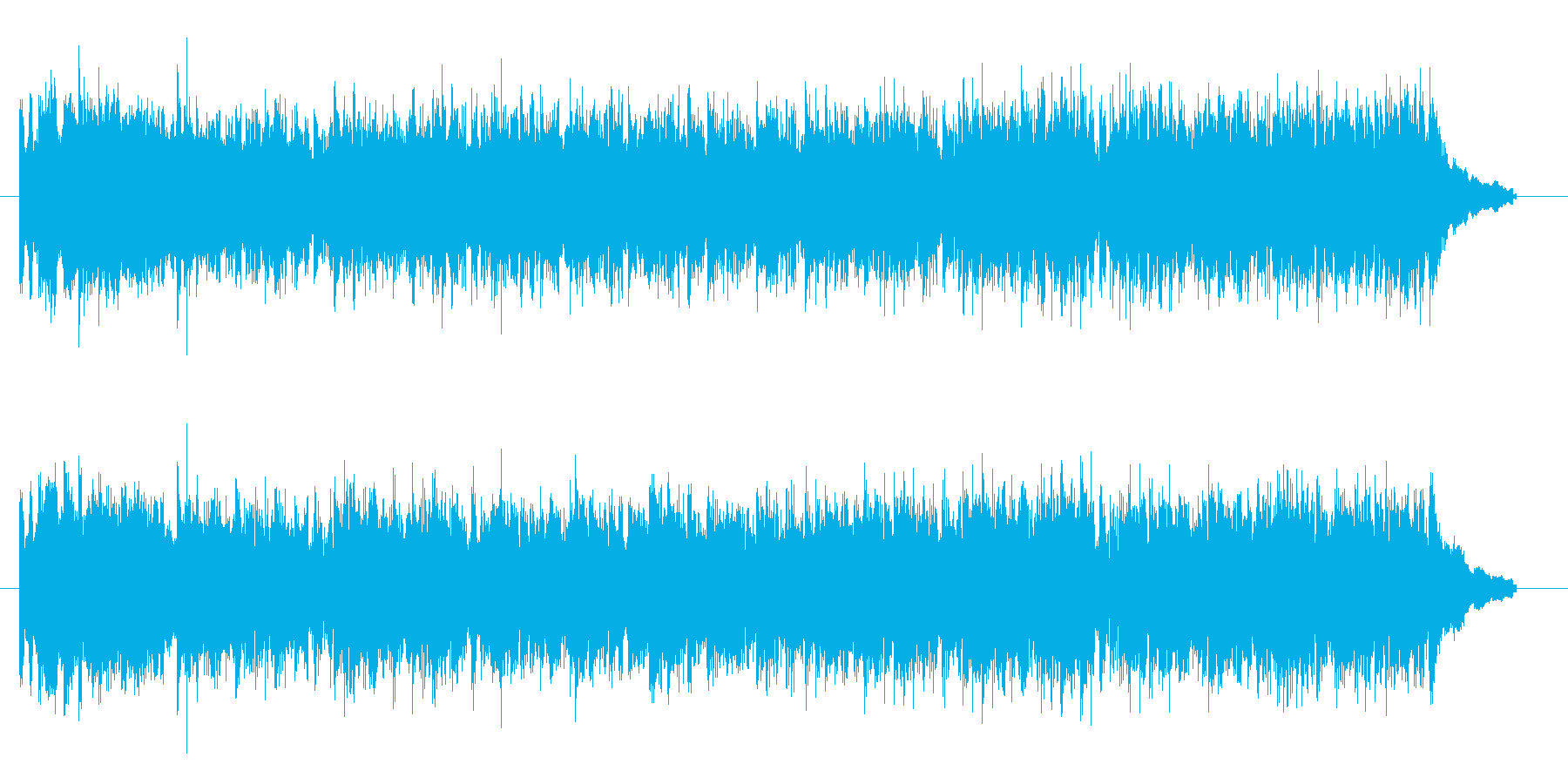 ゲーム BGM 疾走感を伴った戦闘シー…の再生済みの波形