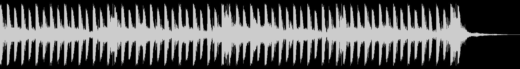 スイープ、128 BPMの未再生の波形