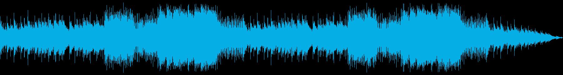 お正月に合うゆったりとした和風BGMの再生済みの波形