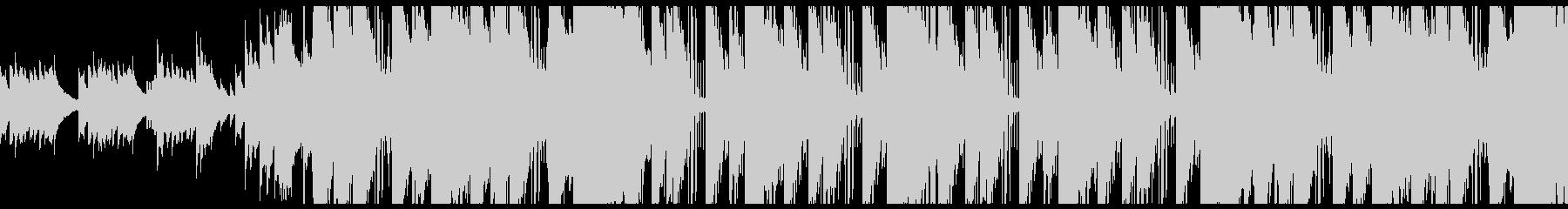 切ないトラップソウル R&Bの未再生の波形